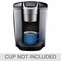 Keurig K-Elite Single Serve, K-Cup Pod Coffee Maker with Iced Coffee Setting, Strength Control, and Hot Water on Demand, Brushed Slate