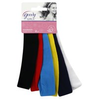 (2 Pack) Goody Ouchless Comfort Fit Headbands, 6 count