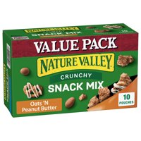 Nature Valley Crunchy Oats 'N Peanut Butter Snack Mix 10 Count