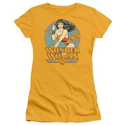 52bb7183c0fa62 DC Comics Wonder Woman Juniors Short Sleeve Shirt. Price