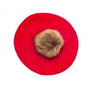 2cd91a5cb1aae Pom Pom Beret Slouchy Beanie Winter Women Baggy Hat 801HBF