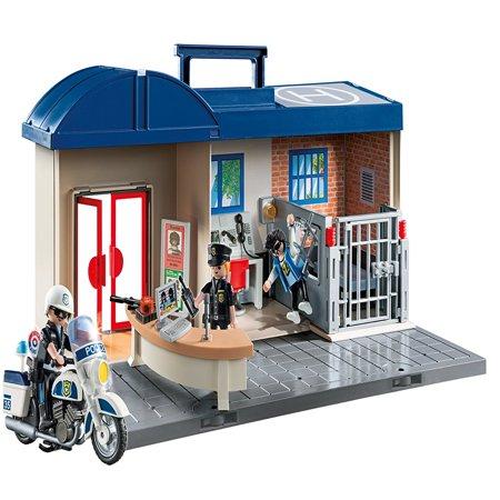 PLAYMOBIL Take Along Police - Station Building Kit