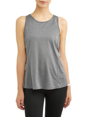 Women's Active Sports Bra and Tank Top 2-in-1