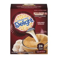 (6 Pack) International Delight Cold Stone Sweet Cream Creamers, 24 Ct