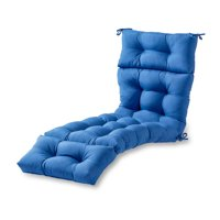 Solid 72 x 22 in. Outdoor Chaise Lounge Cushion