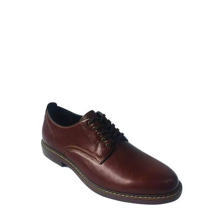 George Men's Plain Toe Oxford Dress (Toddler Brown Dress Shoes)