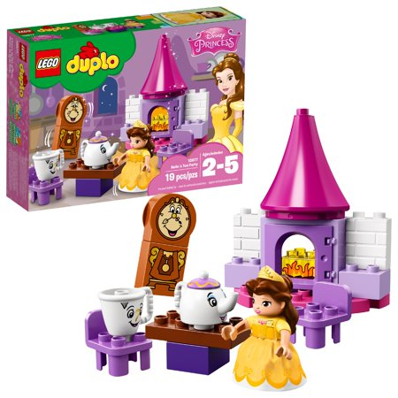 LEGO DUPLO Princess Belle´s Tea Party 10877 (19 Pieces)](Lego Parties)