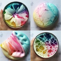 Iuhan Beautiful Color Mixing Cloud Slime Putty Scented Stress Kids Clay Toy