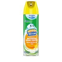 Scrubbing Bubbles Bathroom Grime Fighter Aerosol, Citrus, 20 Ounces