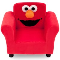 Sesame Street Elmo Kids Upholstered Chair by Delta Children