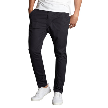 Slim Chino Pants - Mens Cotton Chino Pants Slim Fit Casual Stretch