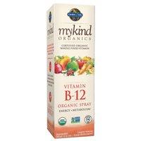Garden of Life Mykind Organics Vitamin B-12 Spray, Raspberry, 2 Fl Oz