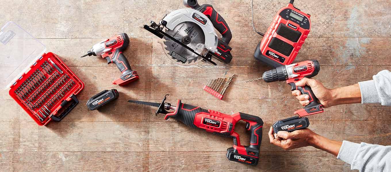 Hyper Tough: Choose your power: A 20V/40V platform for power tools & equipment