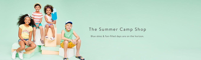 Kids Clothing Camp Shop