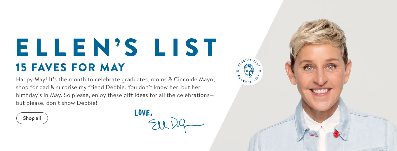 Happy May! It?s the month to celebrate graduates, moms & Cinco de Mayo, shop for dad & surprise my friend Debbie. You don?t know her, but her birthday?s in May. So please, enjoy these gift ideas for all the celebrations?but please, don?t show Debbie!