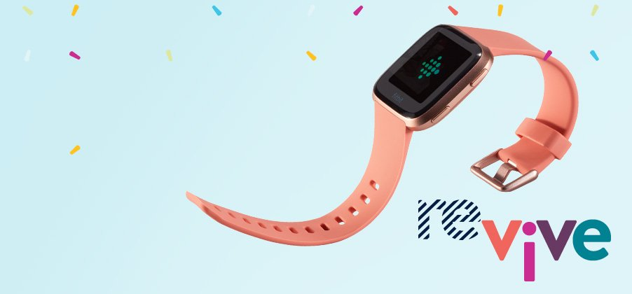 Tech that'll move you. Boost your fitness with up to $30 off select wearable tech.