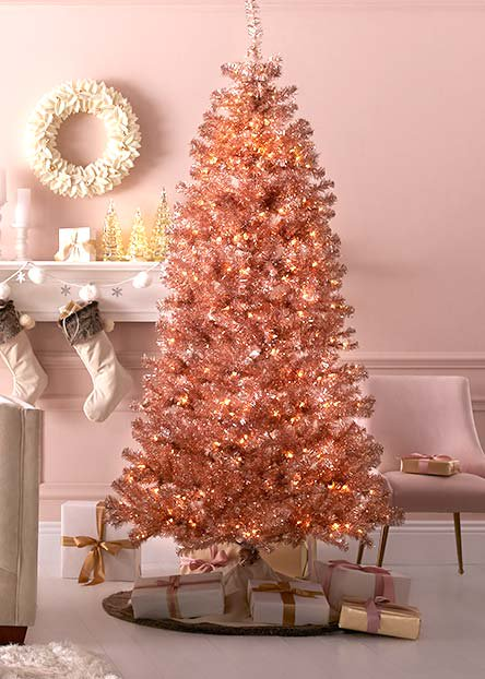 Colored Christmas Trees - Christmas Decorations €� Walmart.com