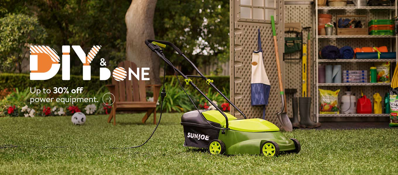 DIY and Done. Save up to 30 percent on power equipment.