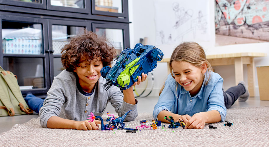 New from LEGO. Get ready for even bricker adventures! Building sets from THE LEGO® MOVIE 2™ to Overwatch, your kids can have an epic building journey & go where no brick has gone before!