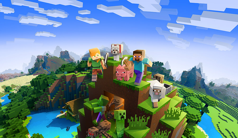 This Xbox One S Minecraft Bundle Offers Creative Fun for Everyone