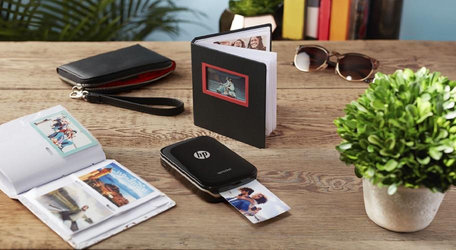 Capture Memories with HP's Sprocket Photo printer.