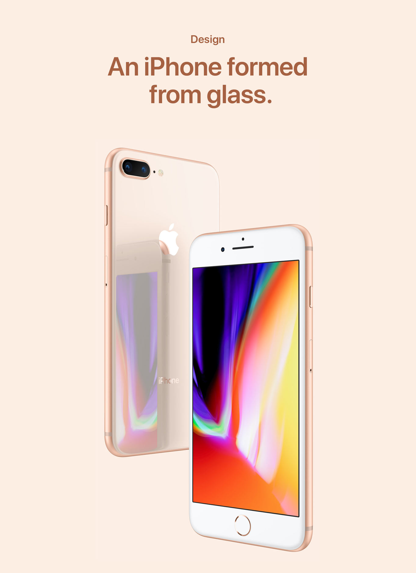 An iPhone formed from glass a83bed4c4c