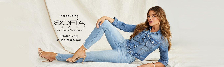 Introducing Sofía Jeans. By Sofía Vergara. Exclusively at Walmart.com.