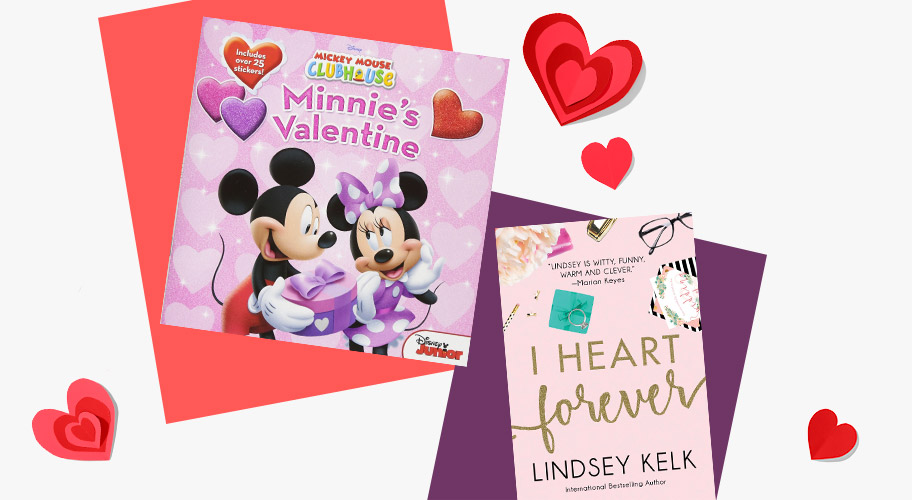 Valentine finds. Take a page from the book of love & pick from our huge collection, with something for her, for him & the kids.