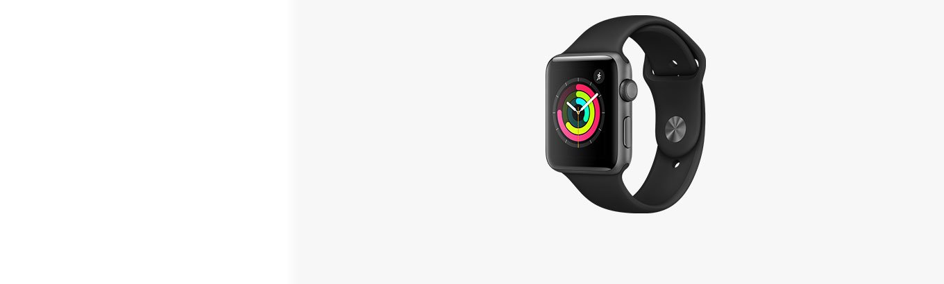 Apple Watch Series 3. Stay active. Stay healthy. Stay connected. Starting at $199.