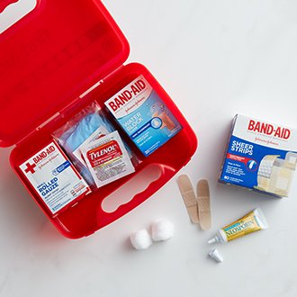 Be prepared with first aid.