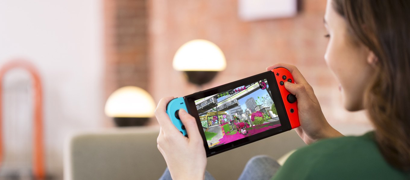 Nintendo Switch. Purchase a console & save $30 on select games.