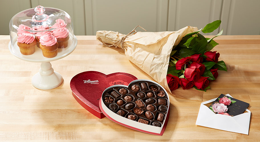 Sweets for your sweetie: Make their day extra-special by giving your Valentine a box of candy or fresh flowers.