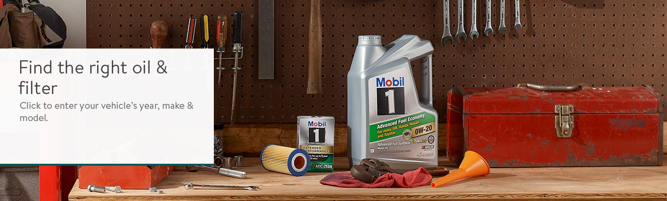 Find the right oil and filter for your vehicle. Click to enter the year, make and model.