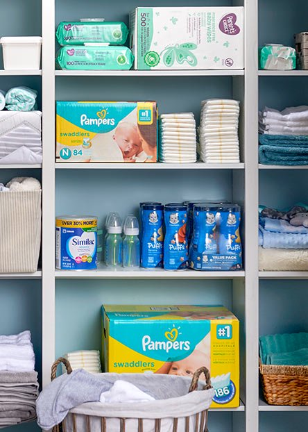 Little necessities. Stock up on all your baby basics for less.