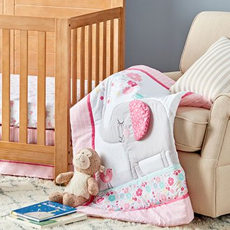 Mix & match adorable bedding pieces.