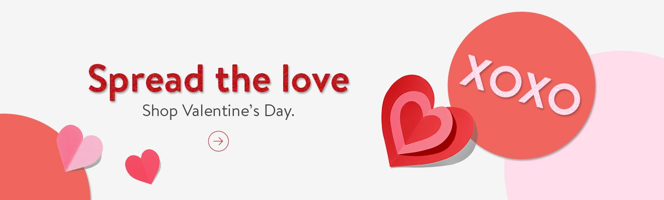 Spread the love Shop Valentine's Day.