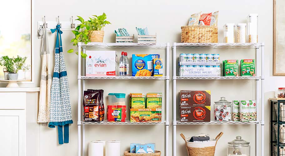 From cooking basics to canned goods, find everything you need to replenish your kitchen.