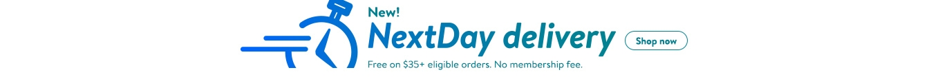 New! Next Day delivery. Free on $35+ orders. No membership fee. Start shopping.
