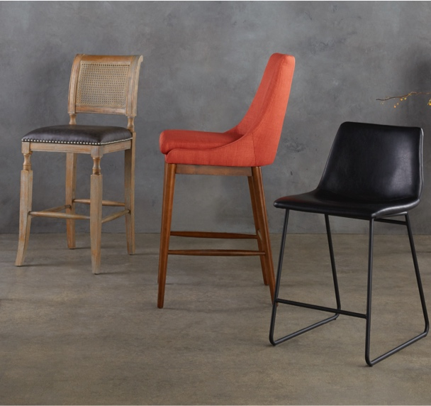 Smart Mid 20th Century Leather Stool Furniture