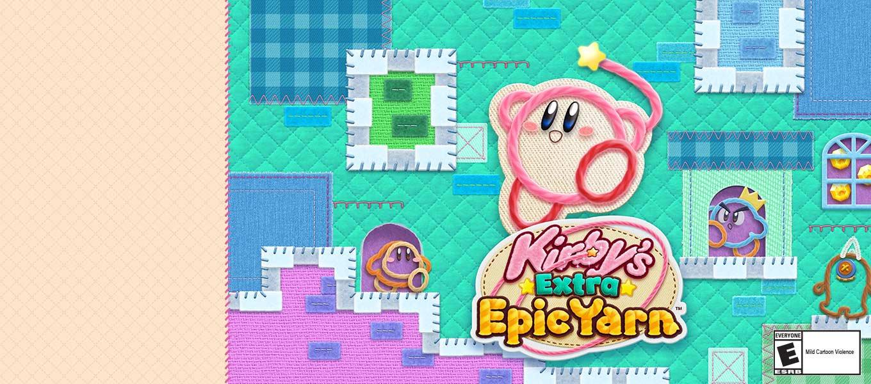 Kirby's Extra Epic Yarn. Extra abilities. Extra epic.