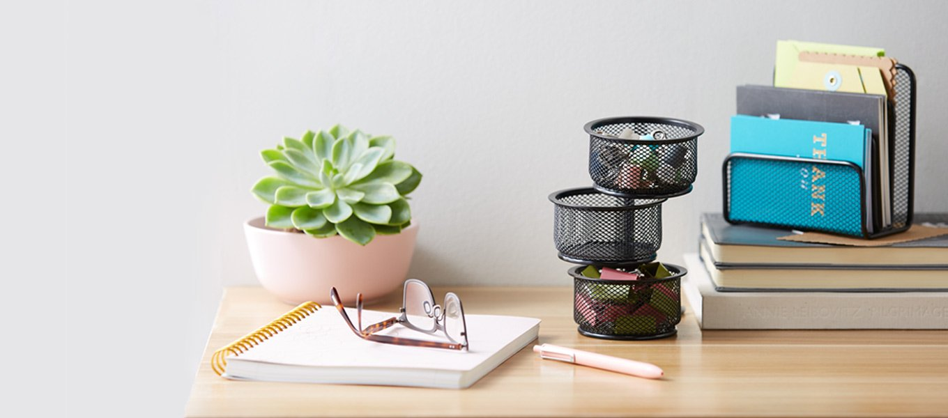 We mean business. These office supplies will do the job.
