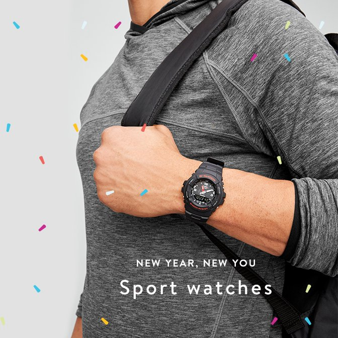 NEW YEAR, NEW YOU Sport watches