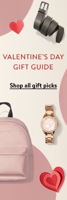 VALENTINE'S DAY GIFT GUIDE. Shop all gift picks