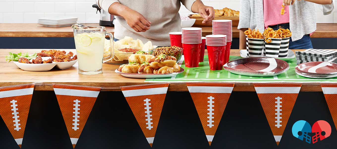 Game Time. Game day goals. Gear up for a gridiron party.