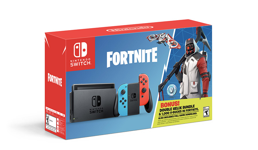 Nintendo Switch & Fortnite Team Up for an Epic Bundle