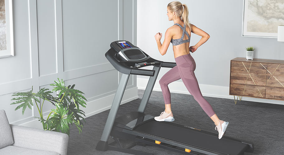 Make a run for it. The NordicTrack C500 will give you the inside track on cranking up your cardio. Plus, it comes with a one-month IFit Membership to use as your personal trainer.