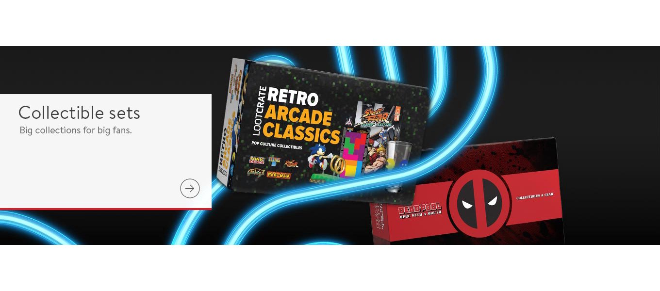 Shop collectible sets. Big collections for big fans.