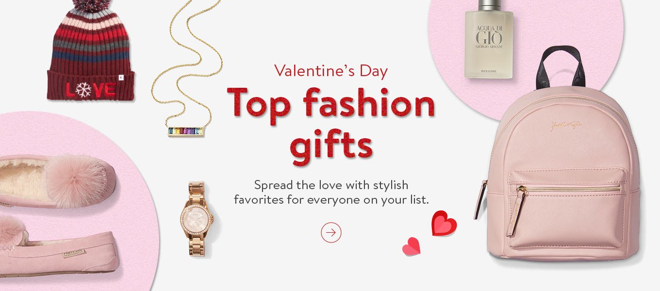 Top fashion gifts. Spread the love with stylish favorites for everyone on your list.