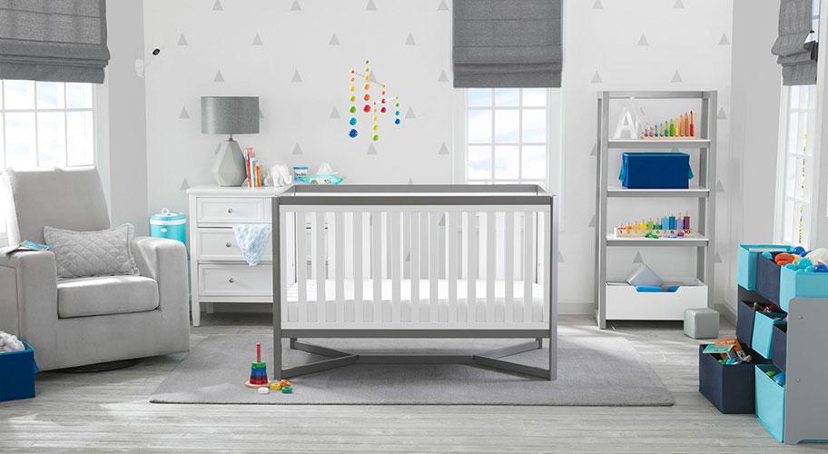 Gallery ba nursery teen room furniture free Gender Neutral Nursery Crate And Barrel Baby Furniture Walmartcom