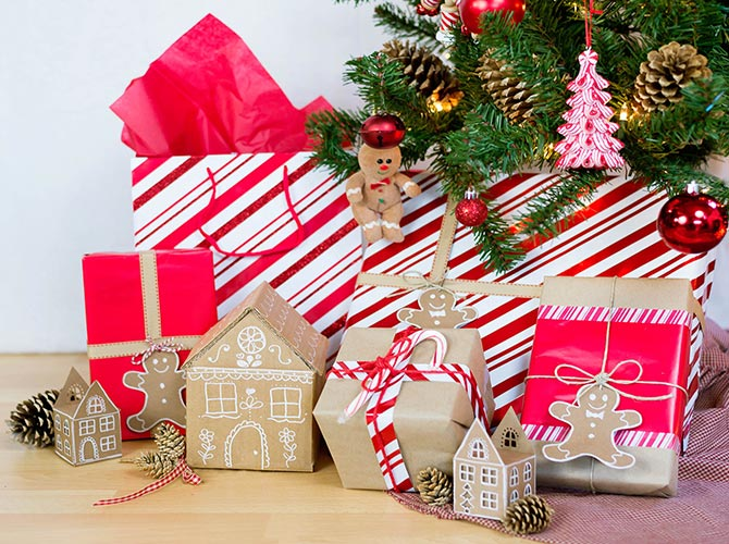 Christmas Gift Wrapper Design.6 Easy Holiday Gift Wrapping Ideas Walmart Com